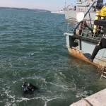 Обследване на акватория от пристанището - Атия 2