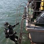 Обследване на акватория от пристанището - Атия