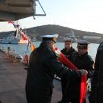 Смяна на командира на фрегата